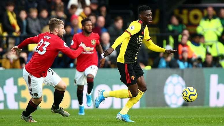 Watford comfortably beat Manchester United. Twitter/WatfordFC