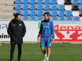 Iñaki Sáenz ya se ha recuperado de su lesión. DeportivoAlavés