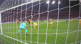 Williams élimine le Barça à la dernière seconde. Capture/Cuatro