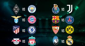 Incroci degli ottavi di finale di Champions League 2020-21. BeSoccer