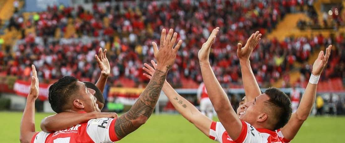 Independiente Santa Fe ganó por 2-1. SantaFe