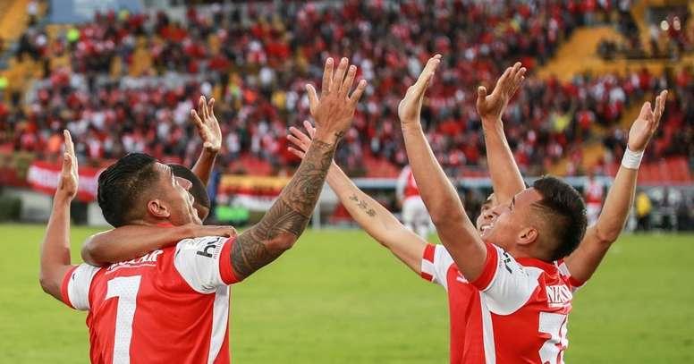 Independiente Santa Fe ganó por 2-1. SantaFe