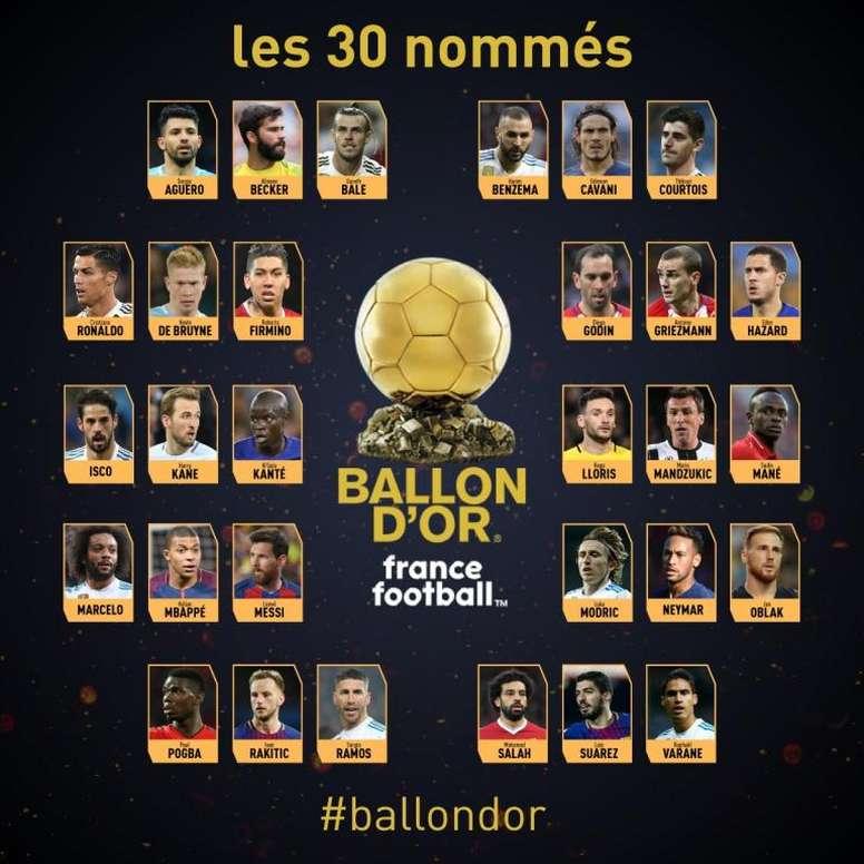 Oro 2018. Twitter/francefootball