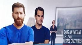 Televisão francesa confunde Messi com seu famoso imitador. Captura/M6