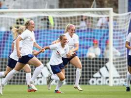 Inglaterra se impuso a Francia. Twitter/FIFAWWC
