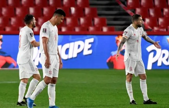 Spain were held to a draw after conceding a second half penalty. EFE