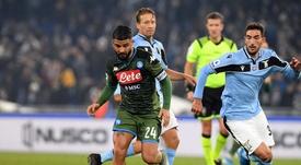 Le probabili formazioni di Napoli-Lazio. Twitter/SSCNapoli