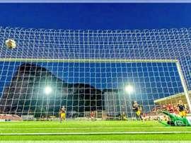Gibraltar se quedó a las puertas de la primera ronda previa de la Champions. Twitter/LincolnRedImps