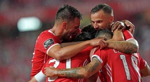 Benfica recebe o Leipizig pela Champions League. Twitter/SLBenfica