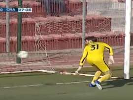 El árbitro dio como válido el primer gol fantasma. SHAHIDTV