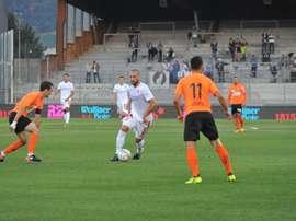 El Sion se impuso ante el equipo del mayor de los Zidane. FCSion/Foto de archivo