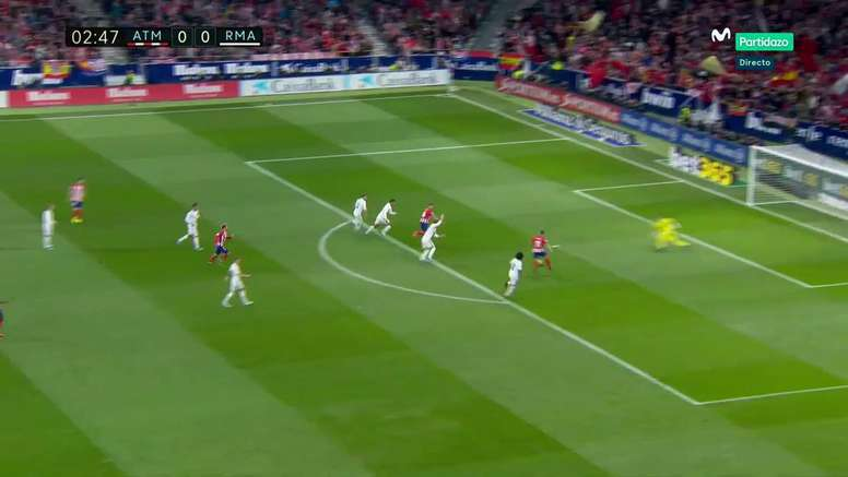 Correa teve nos seus pés o primeiro gol do Atleti. M+Partidazo