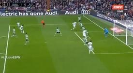 La VAR contre Hazard. Capture/ESPN3