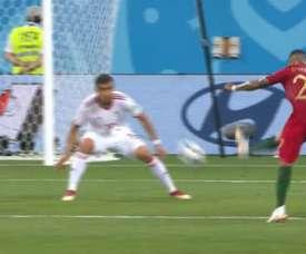 Quaresma scored a fantastic goal. Screenshot