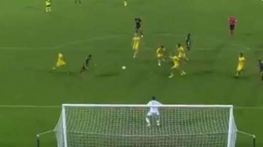 Cristiano marque le premier et provoque le deuxième. Capture/GOL