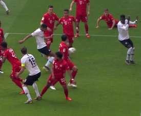Le Bayern n'a souffert qu'une minute. Capture/FOX
