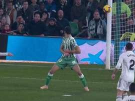 Le but de Modric. Captura/beINSports