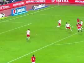 Salah apareció cuando todo Egipto le buscaba. Captura
