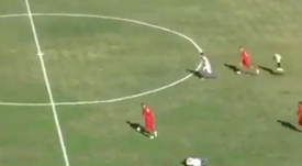 Icardi todavía tendrá que intentarlo para superar esto. Captura/Sportitalia