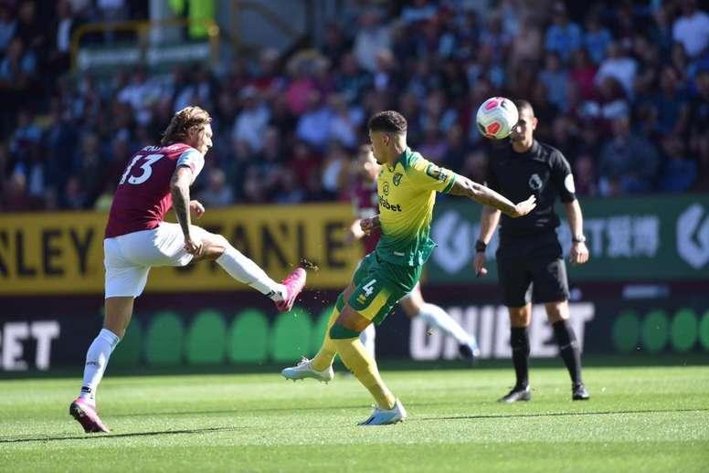 El Burnley se impuso 2-0 al Norwich. BurnleyFC