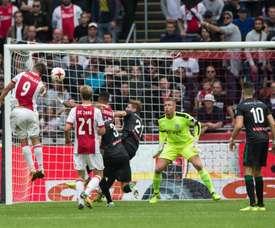 Huntelaar regressou aos seus momentos de glória no Ajax. Ajax