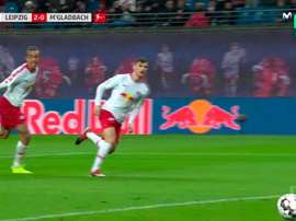 Deux buts en première période. Movistar+