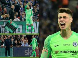 There was tension between Kepa and Caballero. AFP/BeSoccer