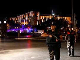 Caso de polícia na Turquia. EFE