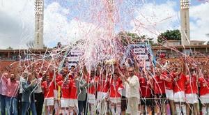 Em Grenal, Inter conquistou, em 2020, seu quinto título da Copinha. Twitter SCInternacional