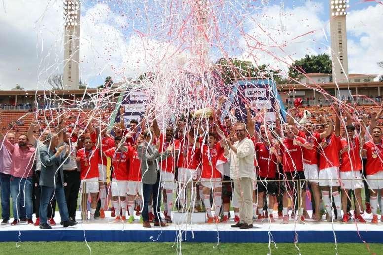 Inter conquista seu quinto título da Copinha. Twitter SCInternacional