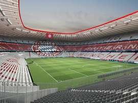 El Bayern por fin tendrá el Allianz Arena en exclusividad. Twitter/FCBayern
