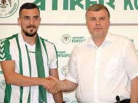 Ioan Hora marcó 19 goles el pasado curso. Konyaspor
