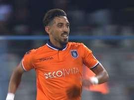 Kahveci, de 24 anos, soma três temporadas e meia no Istambul Basaksehir. AFP