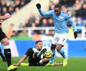 Newcastle e Manchester City se enfrentarão pelas quartas de final da Copa da Inglaterra. AFP
