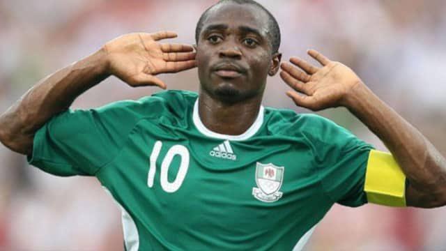 Décès d'Isaac Promise, capitaine du Nigéria lors des J.O 2008. Twitter/TheNFF