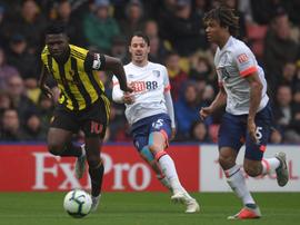 El Bournemouth goleó al conjunto de Javi Gracia por 0-4. Watford