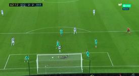 Isak hizo un gran trabajo en el empate. Captura/MovistarLaLiga