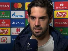 Isco se sent important. Capture/UEFA