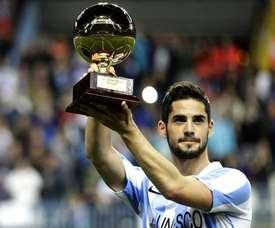 Isco es el último futbolista española que ha ganado el Golden Boy. Twitter