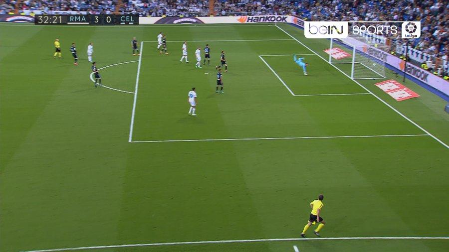 Real Madrid dá chapa 6 ao Celta e segura terceiro lugar