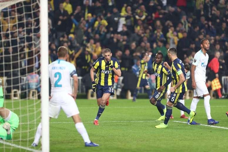 Slimani a marqué face au Zénith. EFE