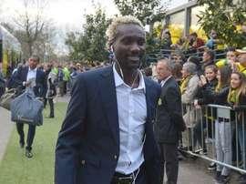 Ismael Bangoura, ya ex jugador del Nantes. NantesFC