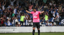 Falcón ha elogiado los primeros días de Lluís Planajumà. HerculesCF