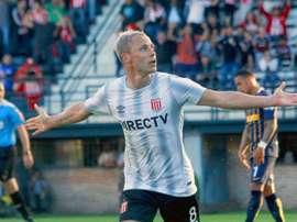 Damonte no estará disponible ante Colón. EstudiantesLaPlata