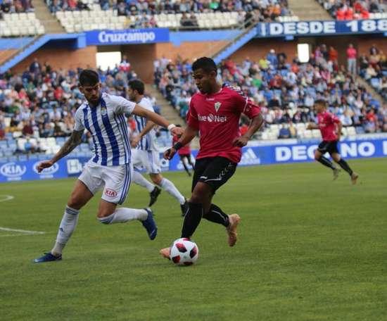 El Marbella arranca un punto de Huelva. Twitter/marbella_fc