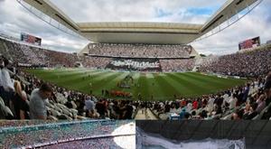 Nada de gols em Itaquera, no Castelão e na Fonte Nova. Montagem