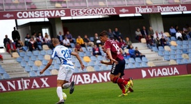 El Pontevedra cosechó su tercera derrota consecutiva. AtléticoBaleares