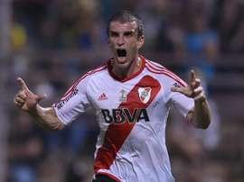 Iván Alonso fue una de las claves de la victoria de River ante Trujillanos. Twitter