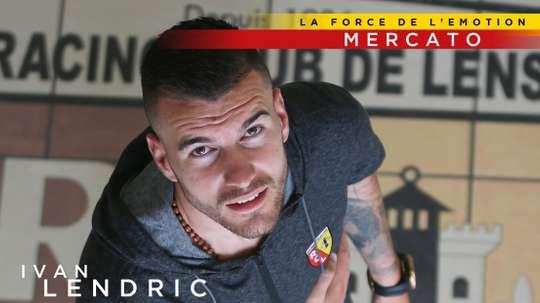 Ivan Lendric se convierte en el nuevo fichaje del Lens. RacingClubdeLens