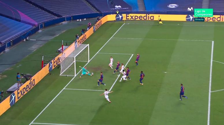 Il Bayern domina contro il Barcellona. MovistarLigadeCampeones